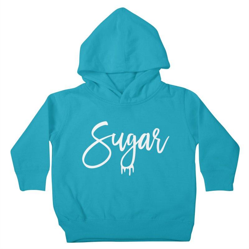 Sugar (White) Kids Toddler Pullover Hoody by More Cake?