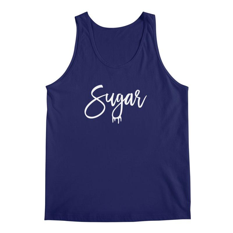 Sugar (White) Men's Regular Tank by More Cake?