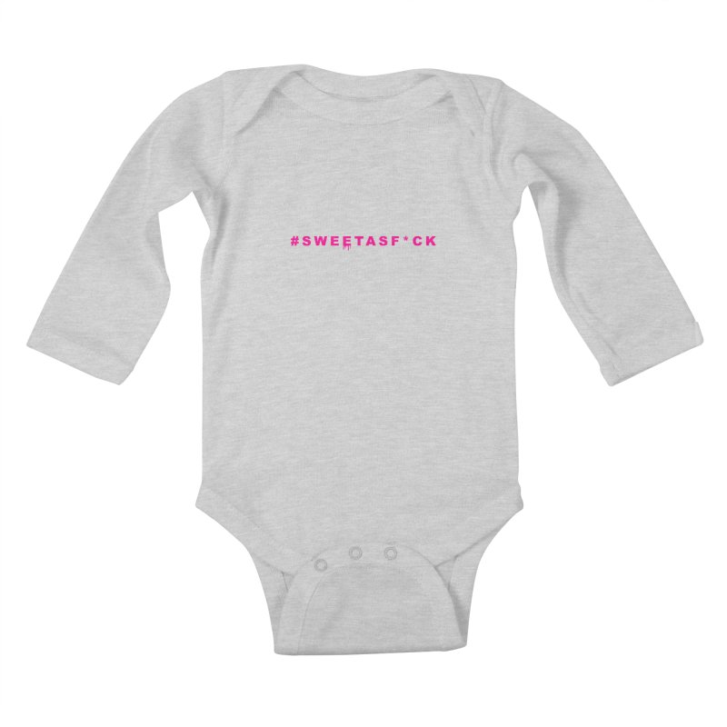 #SWEETASF*CK Kids Baby Longsleeve Bodysuit by More Cake?