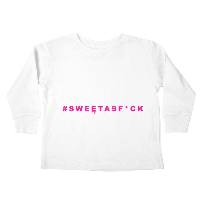 #SWEETASF*CK Kids Toddler Longsleeve T-Shirt by More Cake?