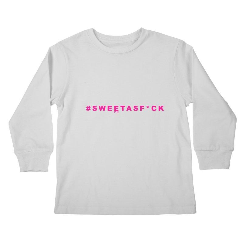 #SWEETASF*CK Kids Longsleeve T-Shirt by More Cake?