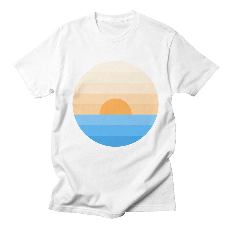 Sun goes down Men's T-Shirt by Moremo's Artist Shop
