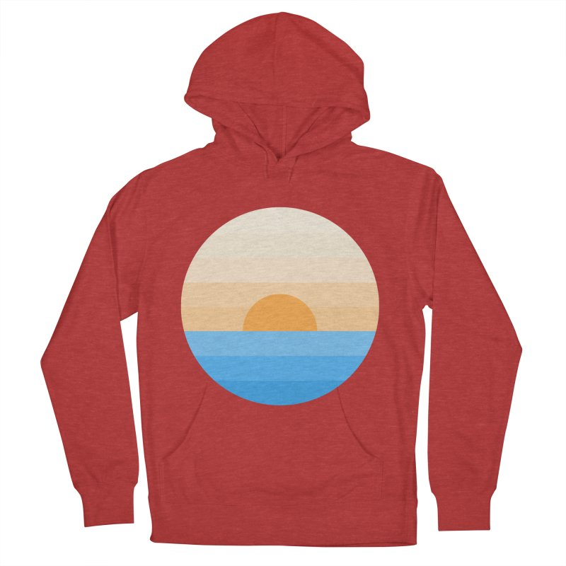 Sun goes down Women's French Terry Pullover Hoody by Moremo's Artist Shop