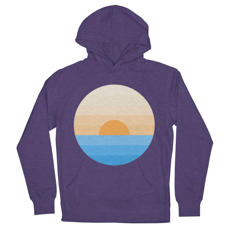Sun goes down Men's Pullover Hoody by Moremo's Artist Shop