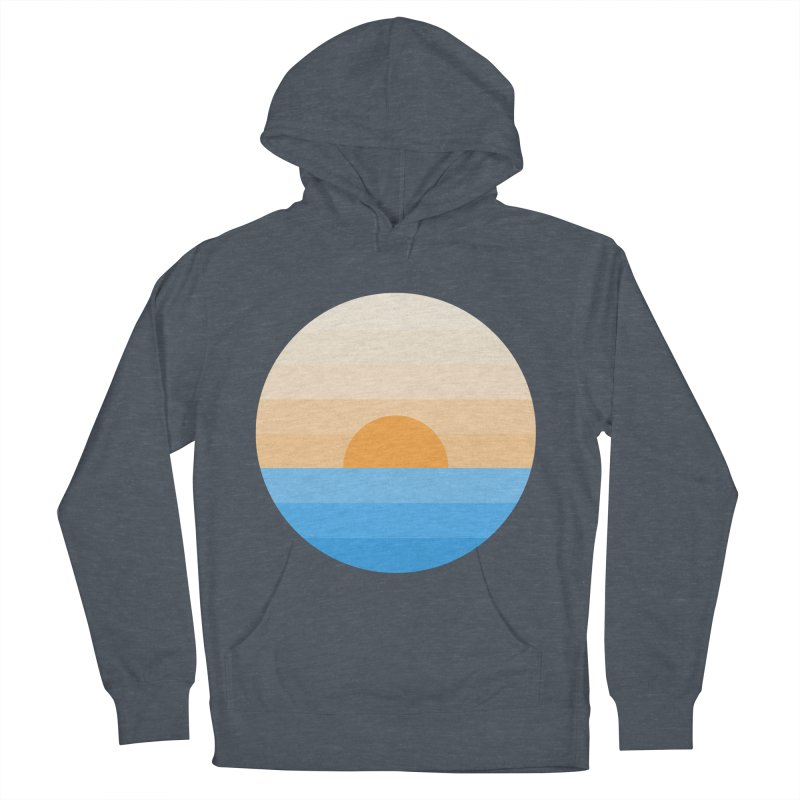 Sun goes down Men's French Terry Pullover Hoody by Moremo's Artist Shop