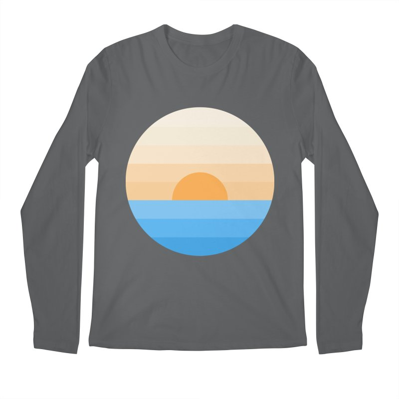 Sun goes down Men's Longsleeve T-Shirt by Moremo's Artist Shop