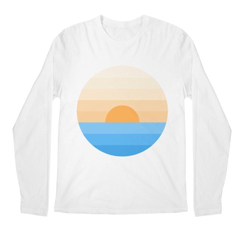 Sun goes down Men's Regular Longsleeve T-Shirt by Moremo's Artist Shop