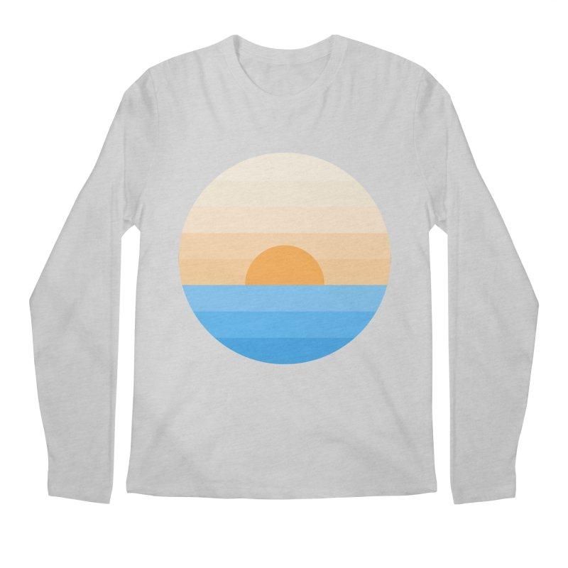 Sun goes down Men's Longsleeve T-Shirt by Moremo's Artist Shop