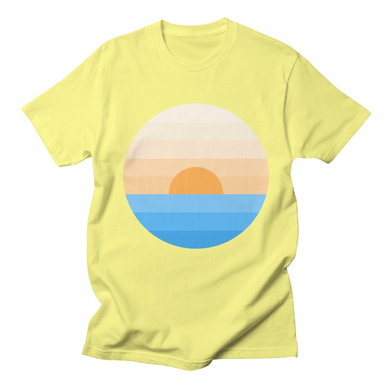 Sun goes down Men's Regular T-Shirt by Moremo's Artist Shop