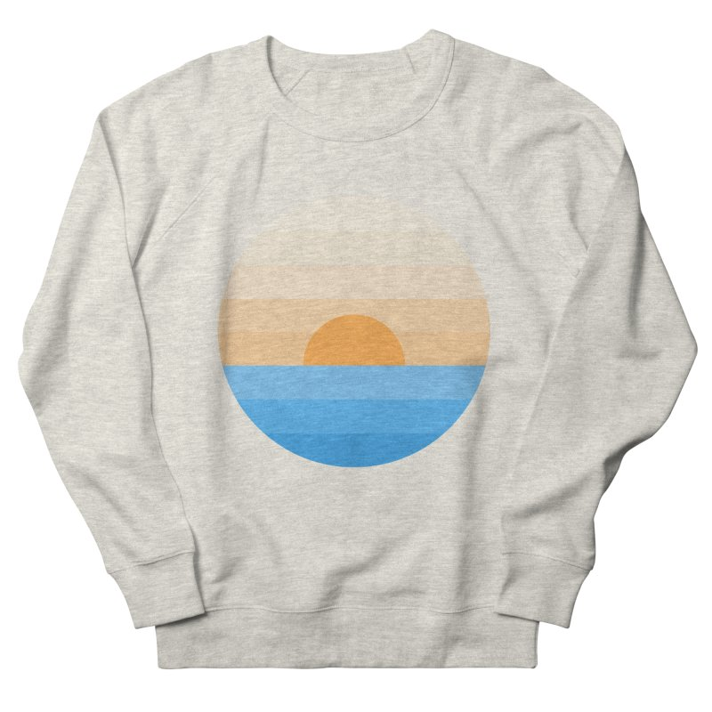 Sun goes down Women's French Terry Sweatshirt by Moremo's Artist Shop