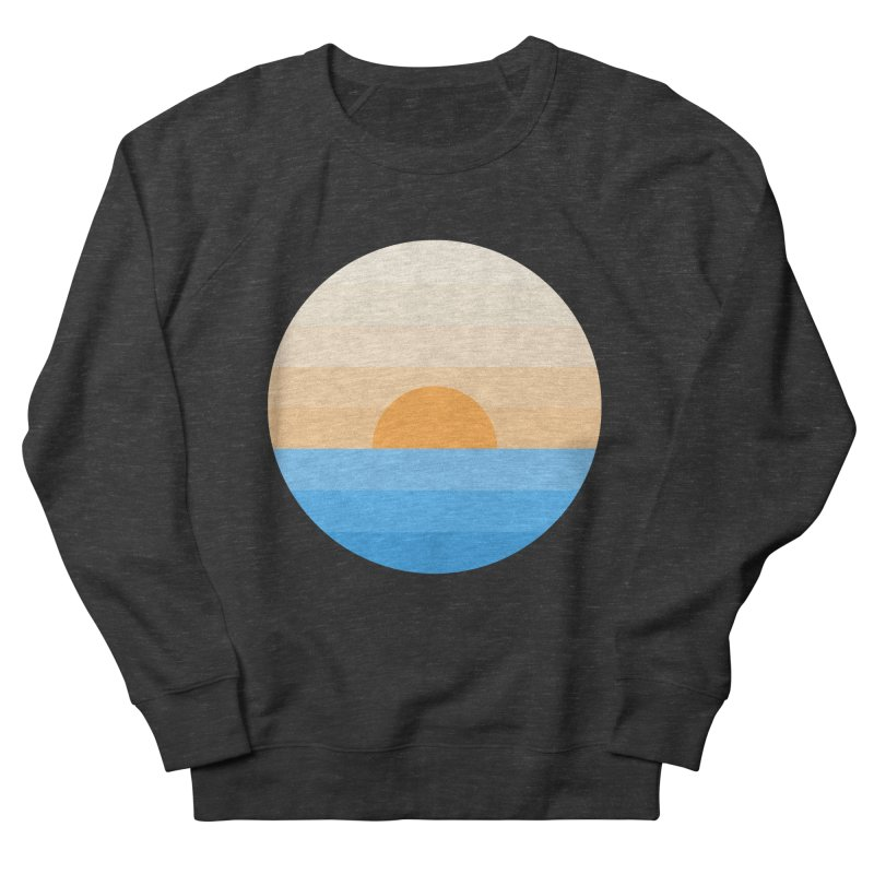 Sun goes down Men's French Terry Sweatshirt by Moremo's Artist Shop