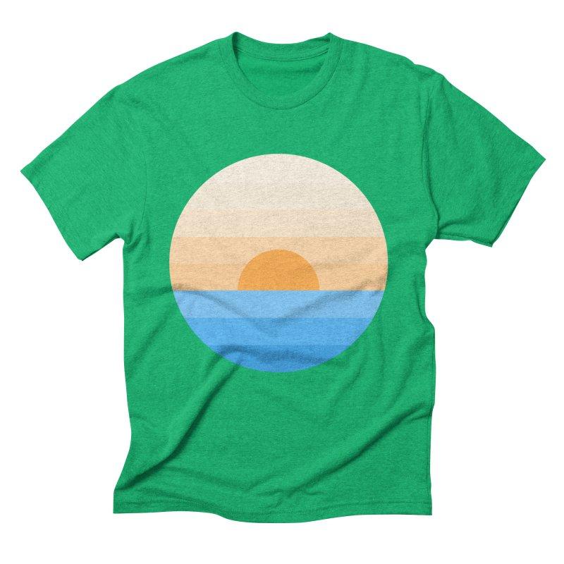 Sun goes down Men's Triblend T-Shirt by Moremo's Artist Shop