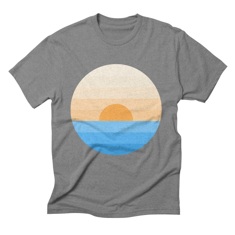 Sun goes down Men's Triblend T-Shirt by Moremo's Artist Shop