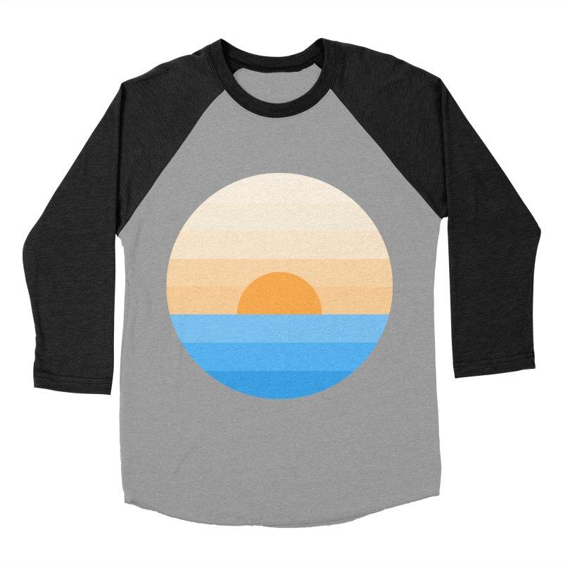 Sun goes down Men's Baseball Triblend T-Shirt by Moremo's Artist Shop