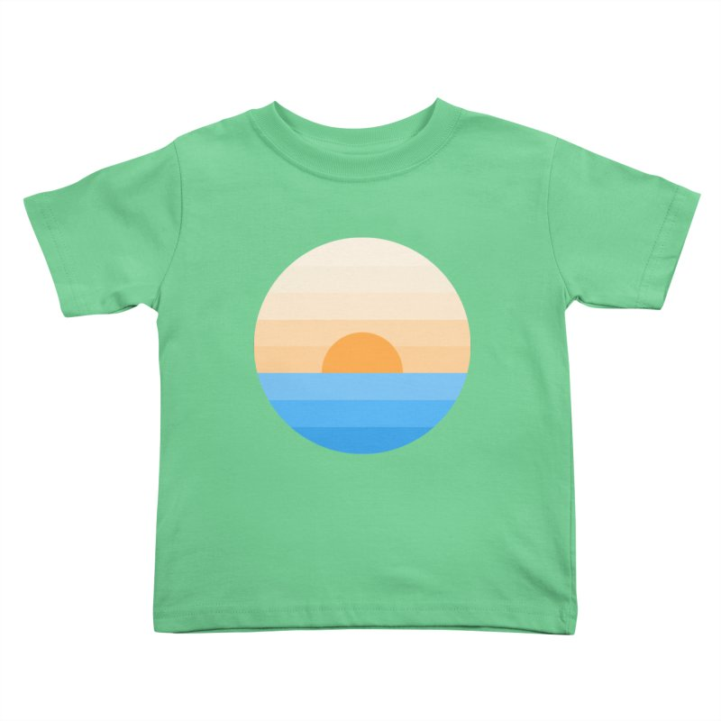 Sun goes down Kids Toddler T-Shirt by Moremo's Artist Shop