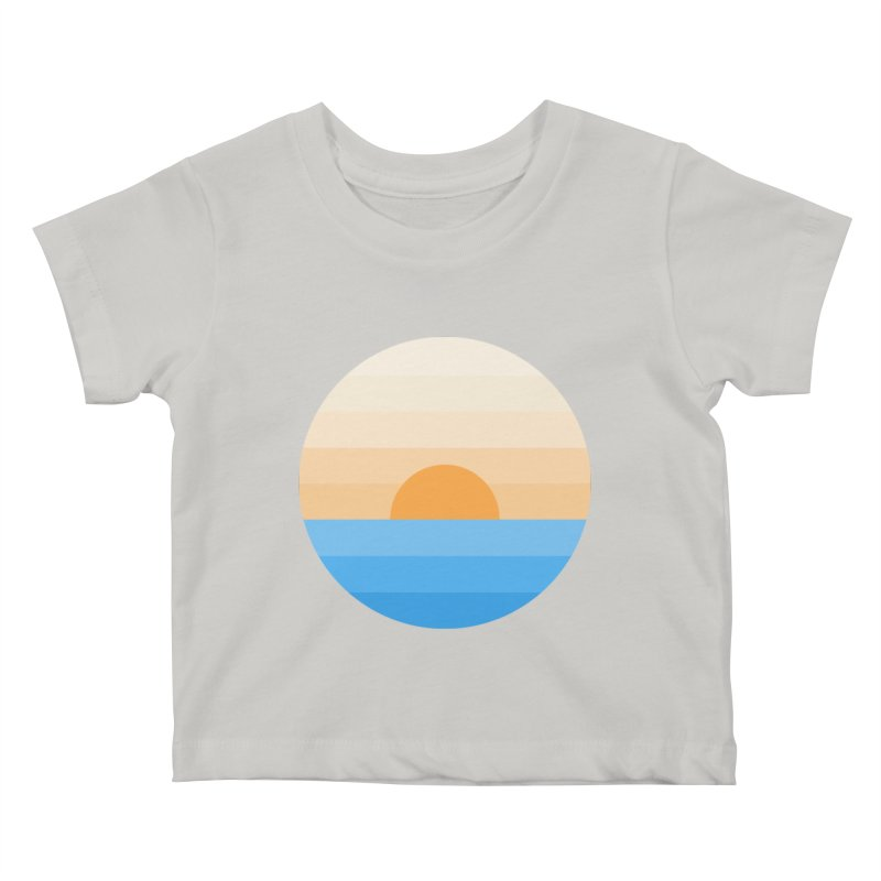 Sun goes down Kids Baby T-Shirt by Moremo's Artist Shop