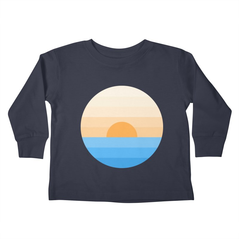 Sun goes down Kids Toddler Longsleeve T-Shirt by Moremo's Artist Shop