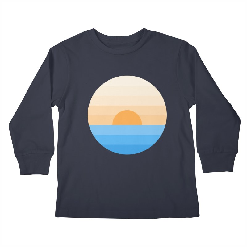 Sun goes down Kids Longsleeve T-Shirt by Moremo's Artist Shop