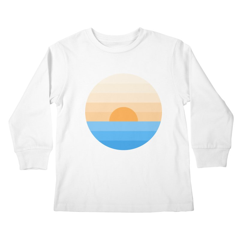 Sun goes down Kids Longsleeve T-Shirt by Moremo's Artist Shop
