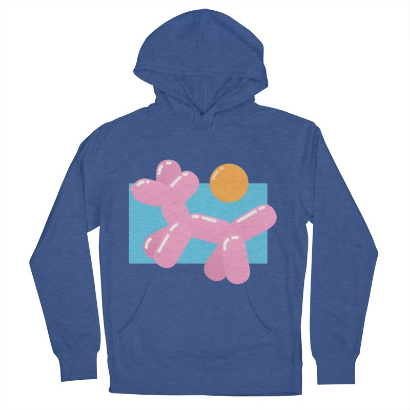 Dog meets Summer Women's French Terry Pullover Hoody by Moremo's Artist Shop