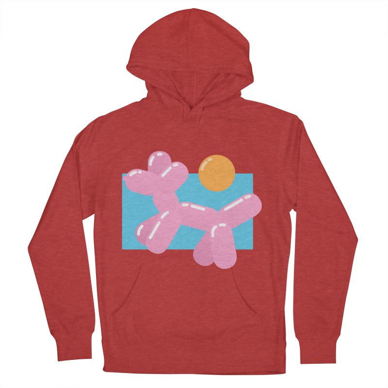 Dog meets Summer Men's Pullover Hoody by Moremo's Artist Shop