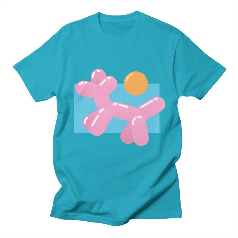 Dog meets Summer Men's Regular T-Shirt by Moremo's Artist Shop