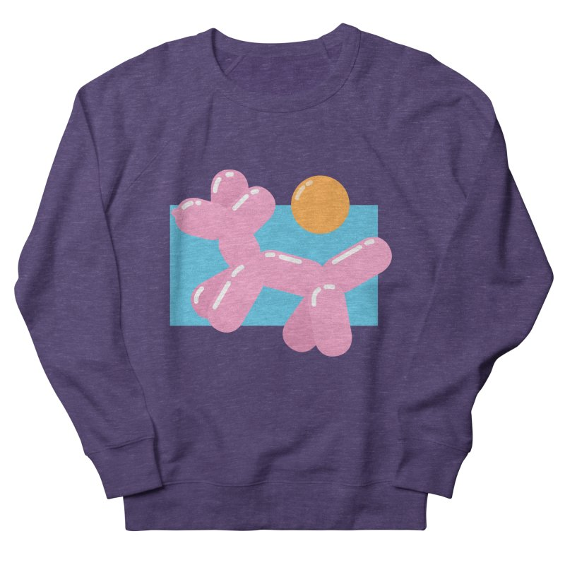 Dog meets Summer Women's French Terry Sweatshirt by Moremo's Artist Shop