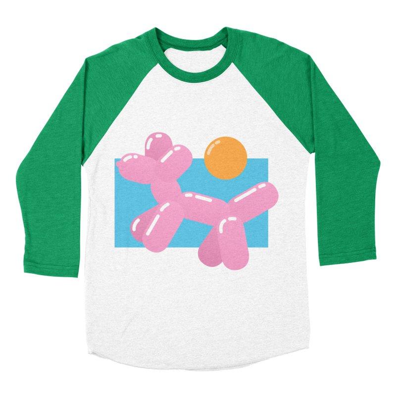Dog meets Summer Men's Baseball Triblend T-Shirt by Moremo's Artist Shop