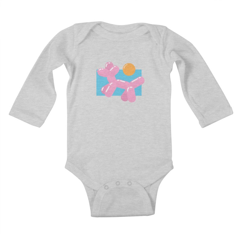 Dog meets Summer Kids Baby Longsleeve Bodysuit by Moremo's Artist Shop