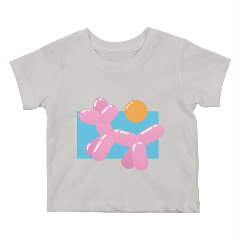 Dog meets Summer Kids Baby T-Shirt by Moremo's Artist Shop