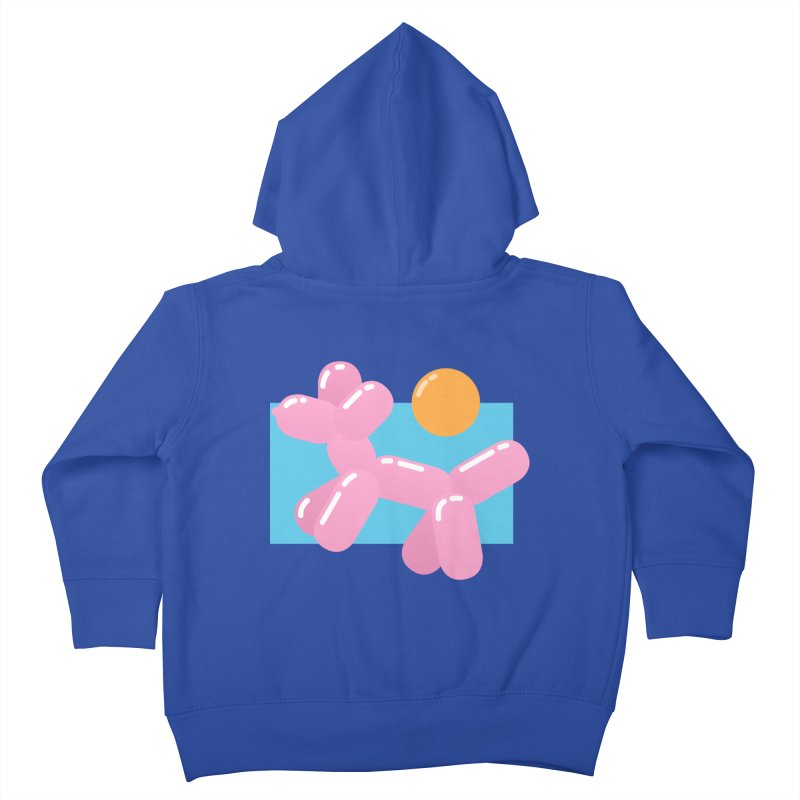 Dog meets Summer Kids Toddler Zip-Up Hoody by Moremo's Artist Shop
