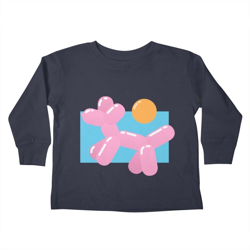 Dog meets Summer Kids Toddler Longsleeve T-Shirt by Moremo's Artist Shop