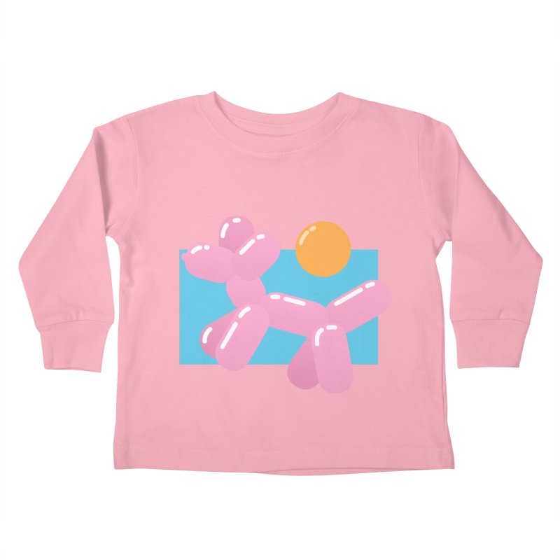 Dog meets Summer Kids Toddler Longsleeve T-Shirt by Moremo's Artist Shop
