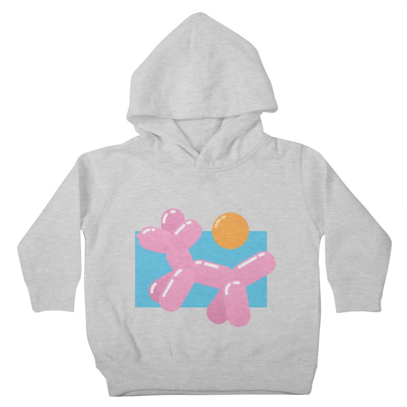 Dog meets Summer Kids Toddler Pullover Hoody by Moremo's Artist Shop