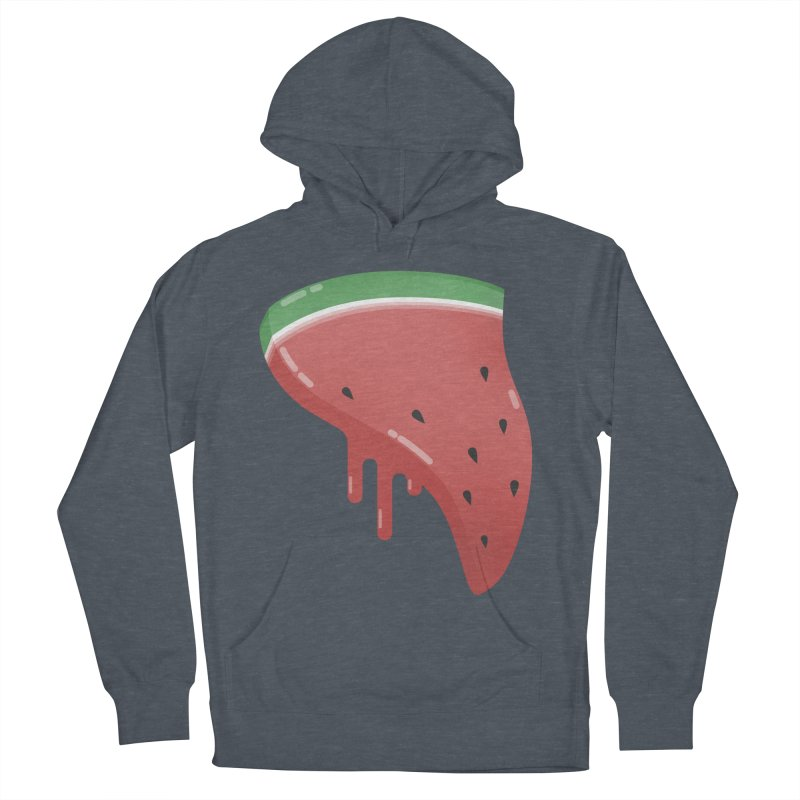 Summer Pizza Women's French Terry Pullover Hoody by Moremo's Artist Shop