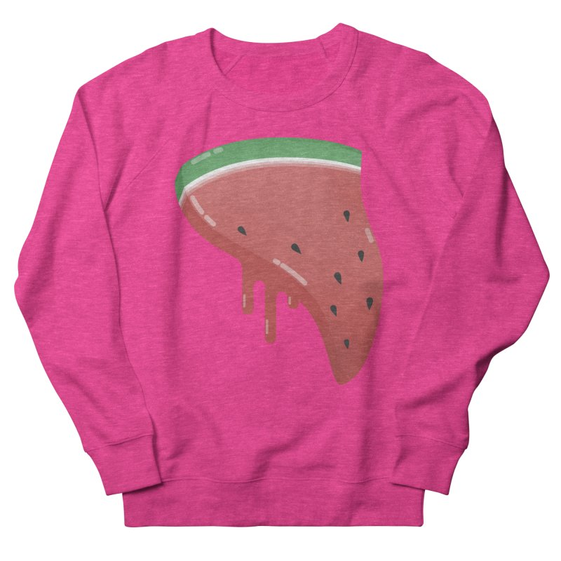 Summer Pizza Women's Sweatshirt by Moremo's Artist Shop