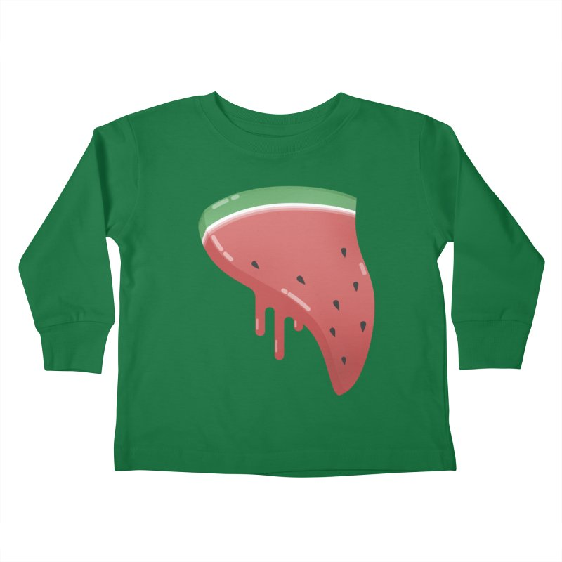 Summer Pizza Kids Toddler Longsleeve T-Shirt by Moremo's Artist Shop