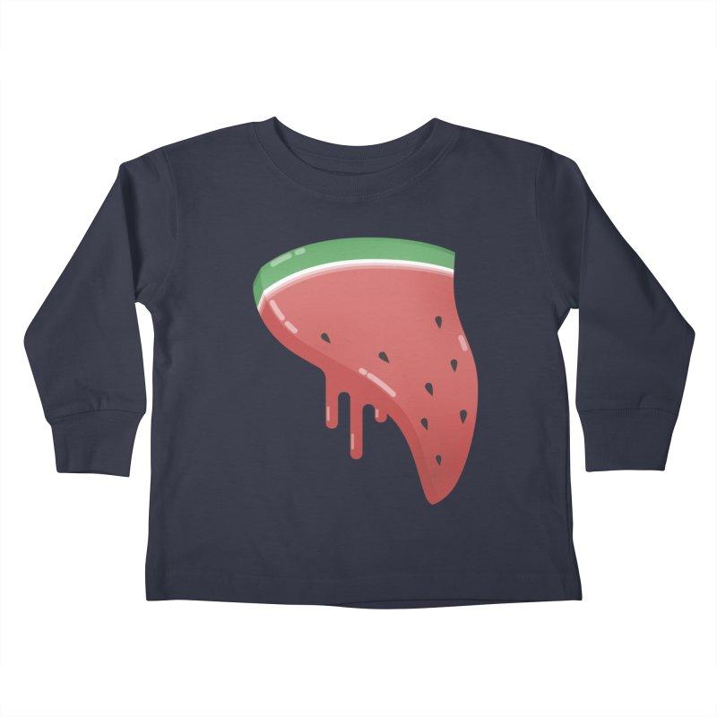 Summer Pizza Kids Toddler Longsleeve T-Shirt by Moremo's Artist Shop