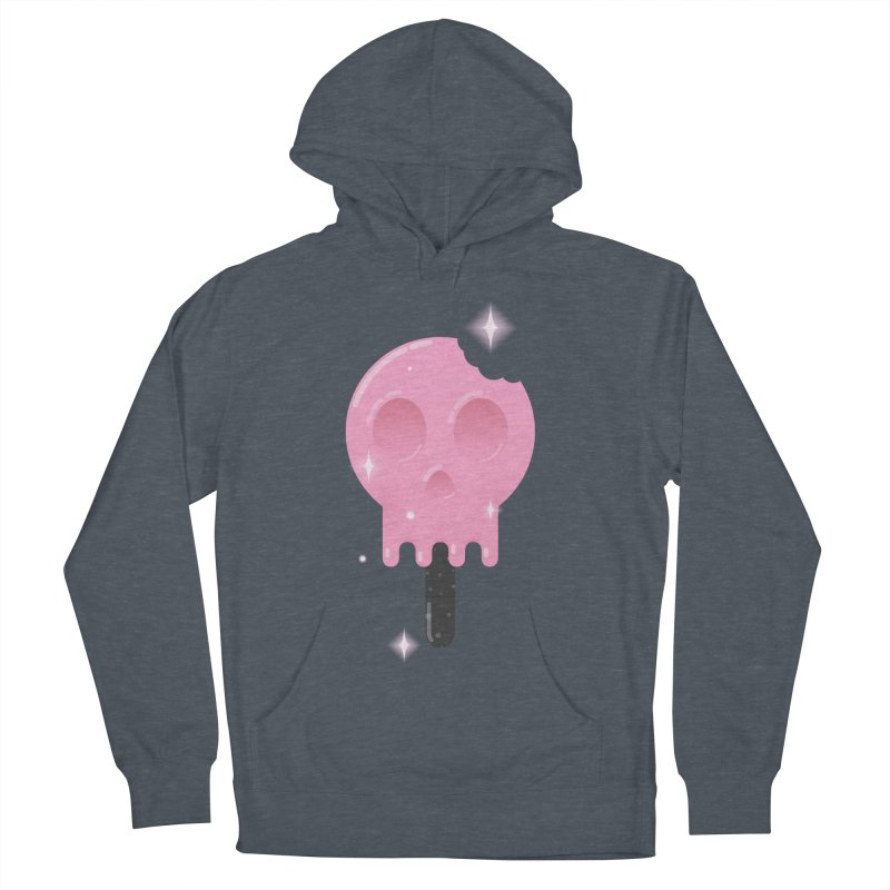 Funny Death Women's French Terry Pullover Hoody by Moremo's Artist Shop