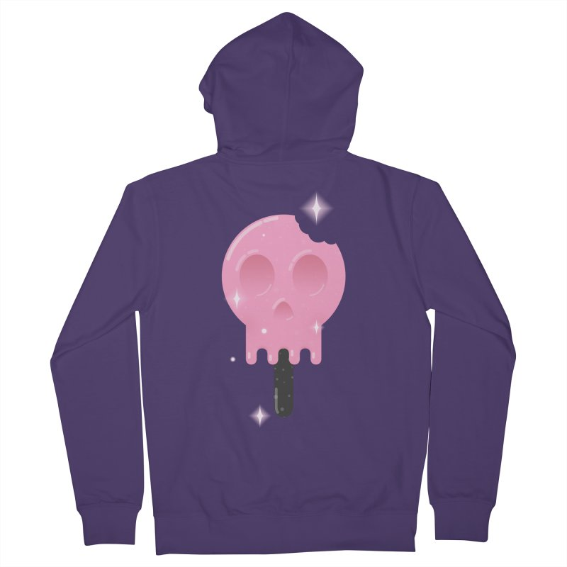 Funny Death Women's Zip-Up Hoody by Moremo's Artist Shop