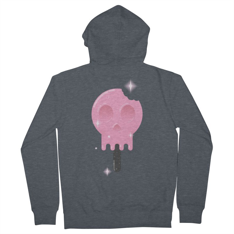 Funny Death Men's Zip-Up Hoody by Moremo's Artist Shop