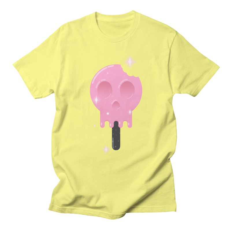 Funny Death Men's Regular T-Shirt by Moremo's Artist Shop