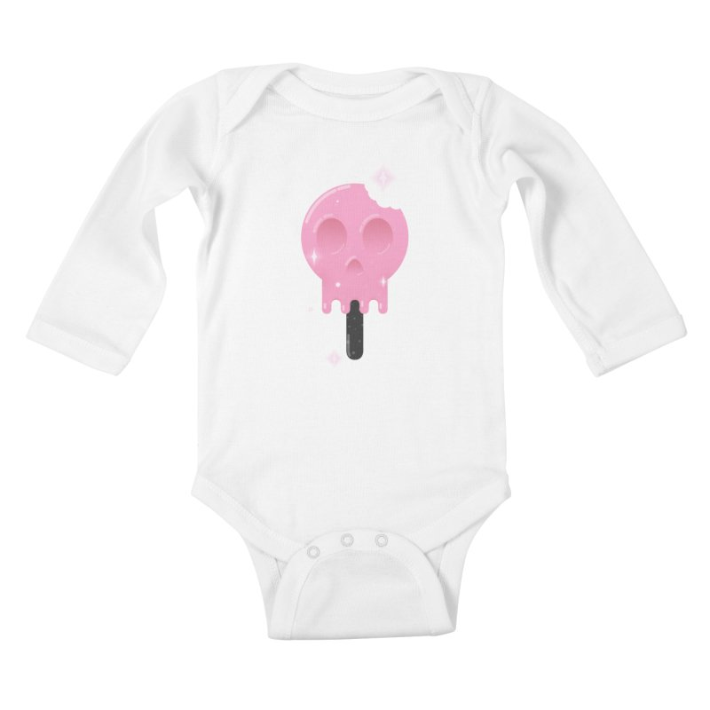 Funny Death Kids Baby Longsleeve Bodysuit by Moremo's Artist Shop