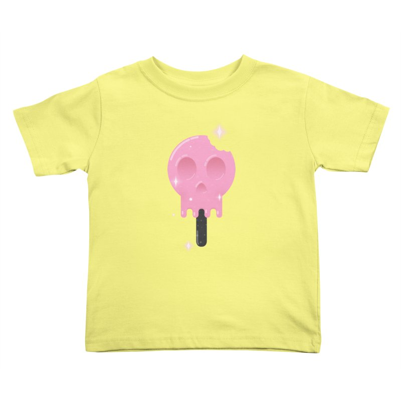 Funny Death Kids Toddler T-Shirt by Moremo's Artist Shop