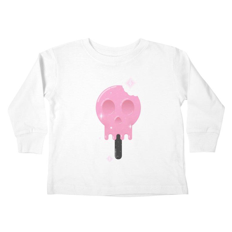 Funny Death Kids Toddler Longsleeve T-Shirt by Moremo's Artist Shop
