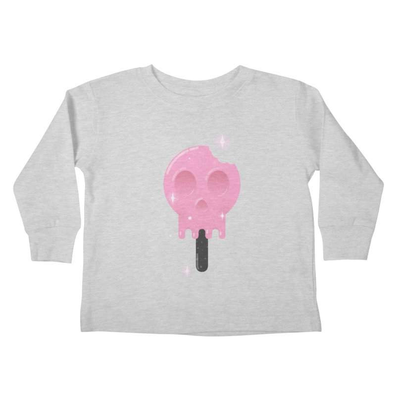 Funny Death Kids Toddler Longsleeve T-Shirt by Moremo's Artist Shop