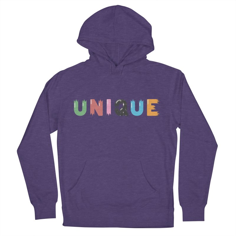 Unique Women's French Terry Pullover Hoody by Moremo's Artist Shop
