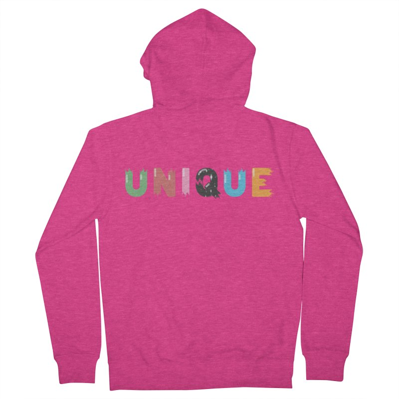 Unique Women's French Terry Zip-Up Hoody by Moremo's Artist Shop