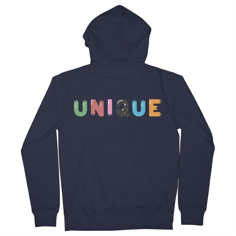 Unique Men's French Terry Zip-Up Hoody by Moremo's Artist Shop
