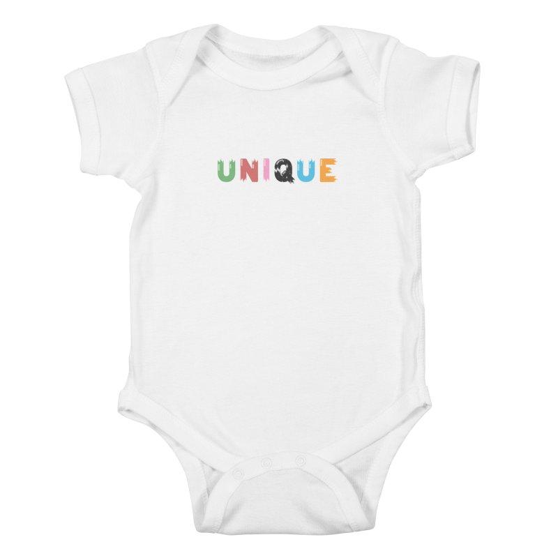 Unique Kids Baby Bodysuit by Moremo's Artist Shop